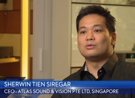 Clintra Testimonial Atlas Sound & Vision Pte Ltd, Singapore